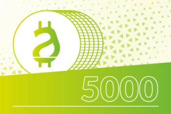 Pacchetto 5000 crediti